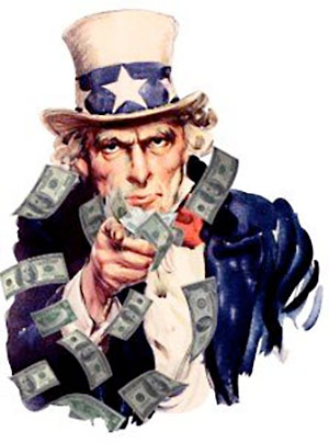 Uncle Sam Wants You to Pay Your Taxes