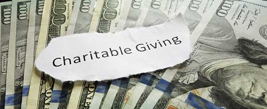 IRS Tips on Charitable Donations. Los Angeles CPA